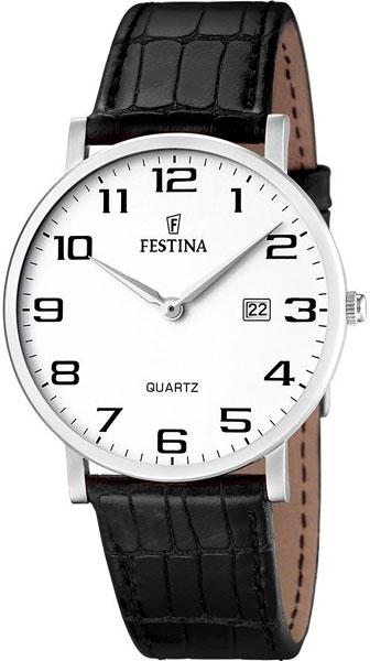 Мужские часы Festina F16476/1 3d metal auto car performance badge decal fender emblem for trd sports racing