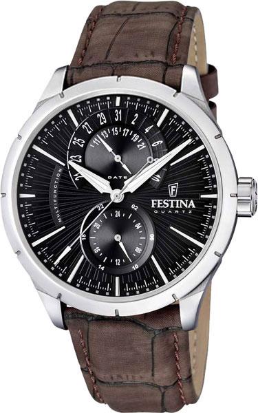 Мужские часы Festina F16573/4 festina festina 16573 3 retro
