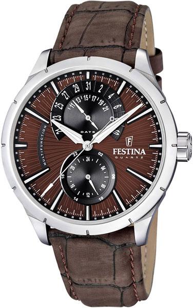 Мужские часы Festina F16573/6 festina festina 16573 3 retro