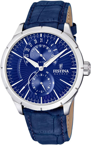 Мужские часы Festina F16573/7 festina festina 16573 3 retro