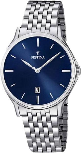 Мужские часы Festina F16744/3 цена 2017
