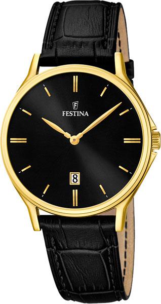 Мужские часы Festina F16747/4 u7 2016 новая мода силиконовая и нержавеющая сталь браслет мужчины изделий 18k позолоченный браслеты
