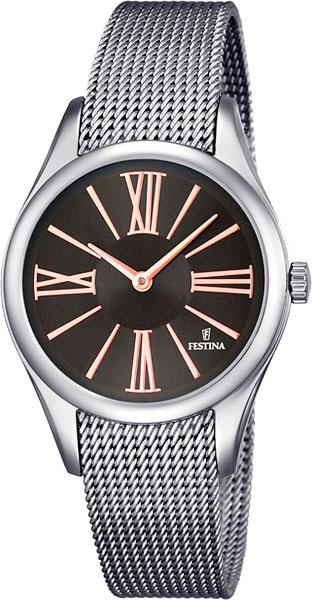 Женские часы Festina F16962/2 женские часы mikhail moskvin 1143s8 b6l2 василина 2