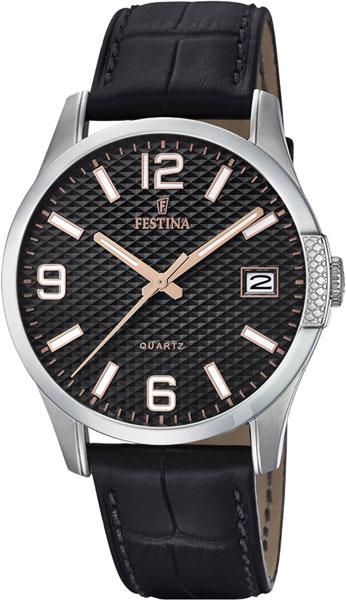 Мужские часы Festina F16982/3 цена 2017