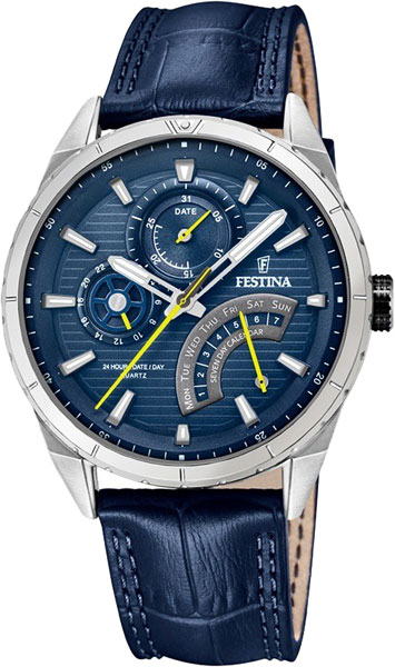 Мужские часы Festina F16986/2 hotel lock system rfid t5577 hotel lock gold silver zinc alloy forging material sn ca 8037