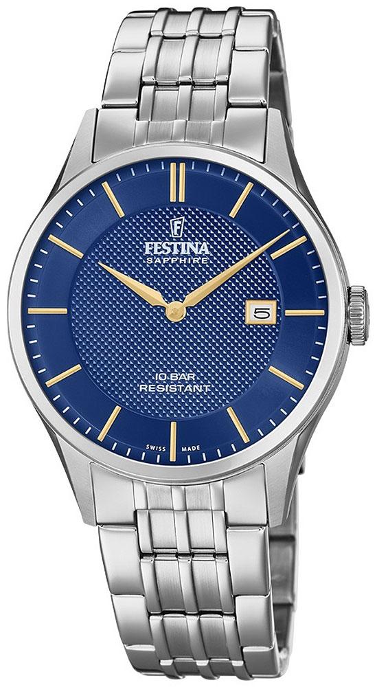 Мужские часы Festina F20005/3 festina часы festina 16666 3 коллекция crono acero sin alarma page 2