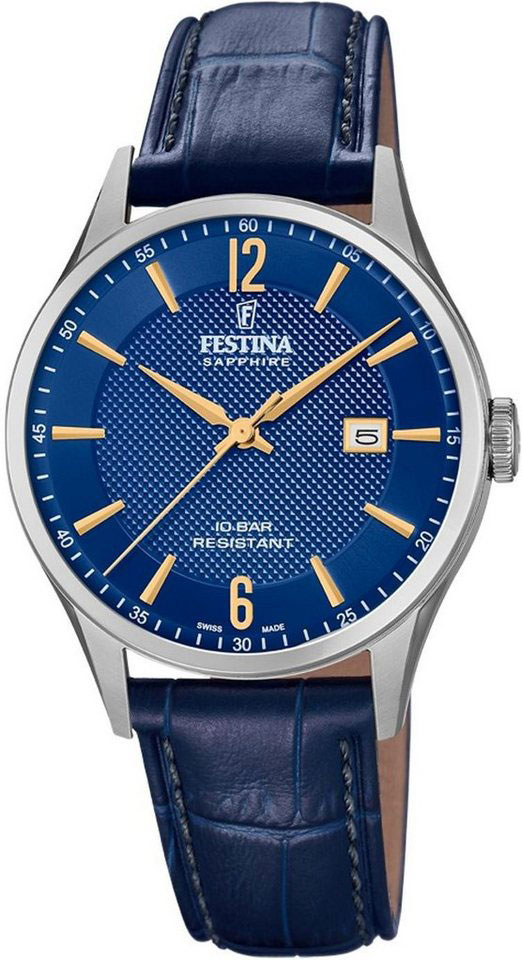лучшая цена Мужские часы Festina F20007/3