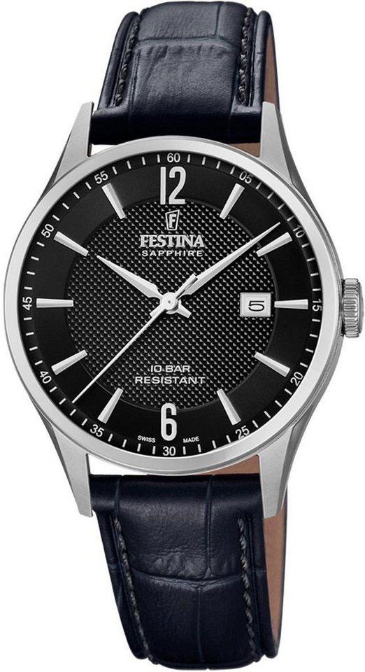 Мужские часы Festina F20007/4 цена в Москве и Питере