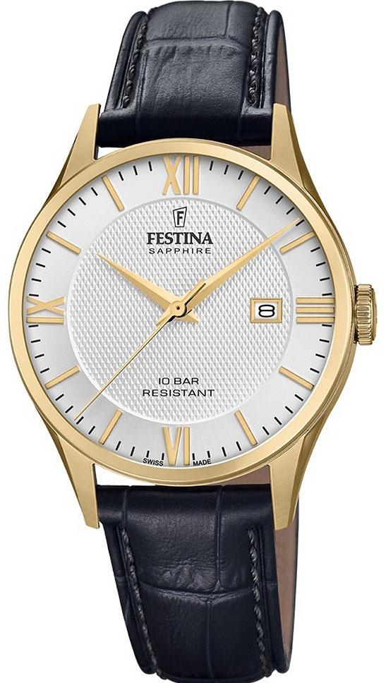 Фото - Мужские часы Festina F20010/2 мужские часы festina f6851 2