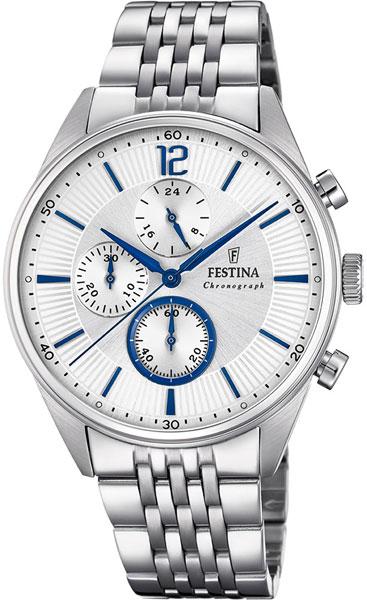 лучшая цена Мужские часы Festina F20285/1