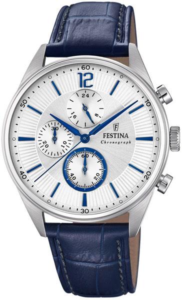 лучшая цена Мужские часы Festina F20286/1