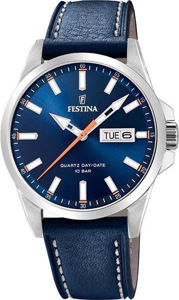 цена Мужские часы Festina F20358/3 онлайн в 2017 году