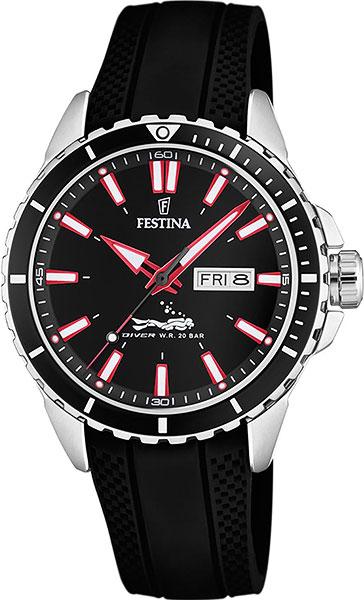 Фото - Мужские часы Festina F20378/2 мужские часы festina f6851 2