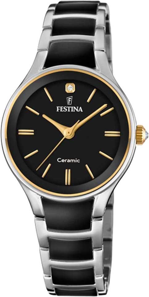 Женские часы в коллекции Ceramic Женские часы Festina F20474/4 фото