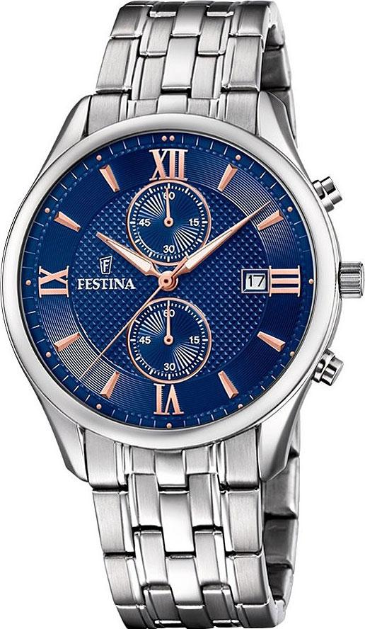 Мужские часы Festina F6854/6 мужские часы festina f20339 6