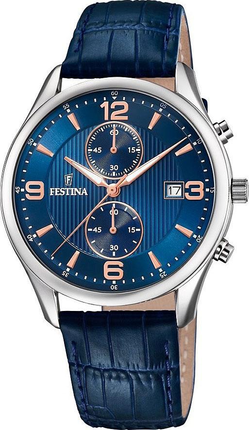 лучшая цена Мужские часы Festina F6855/6