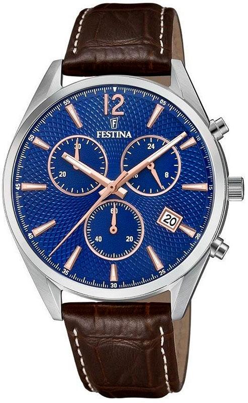 лучшая цена Мужские часы Festina F6860/6