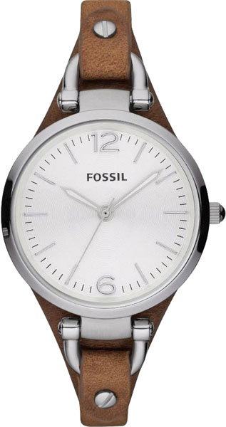 Женские часы Fossil ES3060 часы nixon genesis leather white saddle