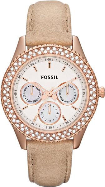 Купить Наручные часы ES3104  Женские наручные fashion часы в коллекции Multifunction Fossil