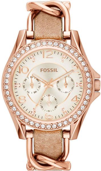 Женские часы Fossil ES3466 fossil riley es3466