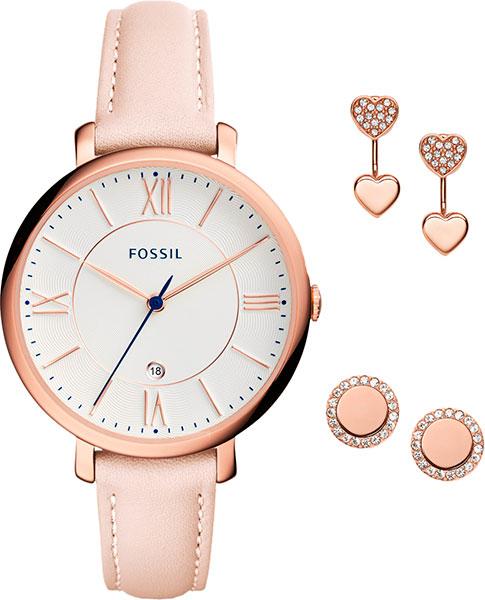 Женские часы Fossil ES4202SET цена и фото