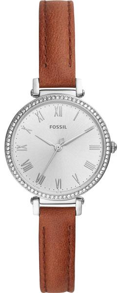 Женские часы Fossil ES4446 garmin vivomove premium со стальным корпусом и кожаным ремешком золотистые
