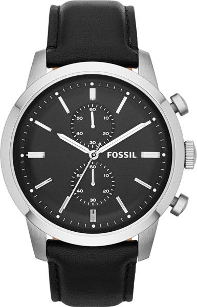 Купить Наручные часы FS4866  Мужские наручные fashion часы в коллекции Chronograph Fossil