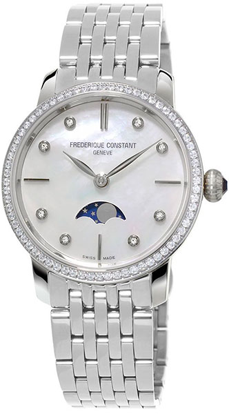 Фото - Женские часы Frederique Constant FC-206MPWD1SD6B meike fc 100 for nikon canon fc 100 macro ring flash light nikon d7100 d7000 d5200 d5100 d5000 d3200 d310
