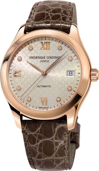 Женские часы Frederique Constant FC-303LGD3B4 frederique constant slim line moonphase fc 206mpwd1s5b page 8