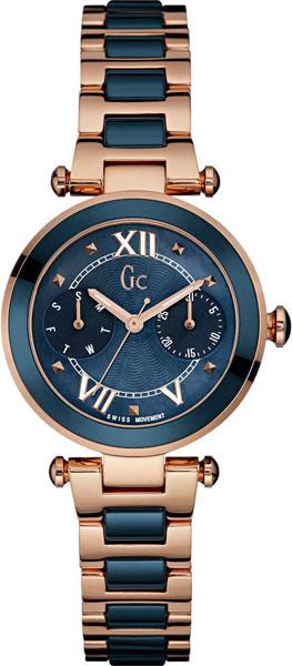 Женские часы Gc Y06009L7 pupa vamp duo rose perlage тени двойные для век тон 001 розовый жемчужный 2 2 г