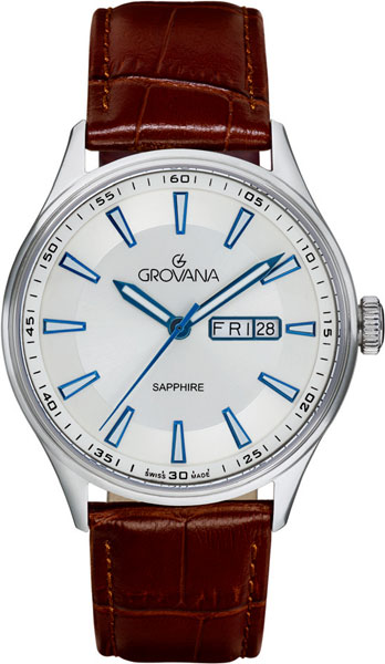 лучшая цена Мужские часы Grovana G1194.1532