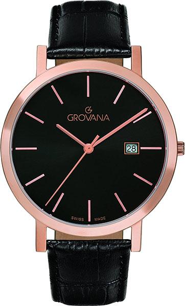 Мужские часы Grovana G1734.1537 Мужские часы Romanson DL5163SMC(WH)