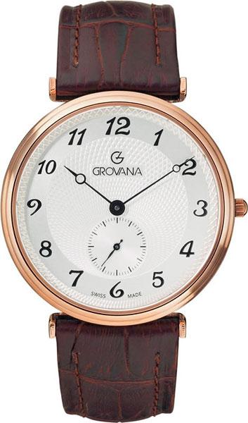 Мужские часы Grovana G1276.5562 u7 2016 новая мода силиконовая и нержавеющая сталь браслет мужчины изделий 18k позолоченный браслеты