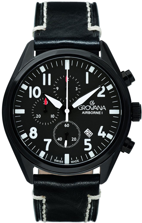 лучшая цена Мужские часы Grovana G1654.9577
