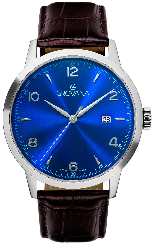 лучшая цена Мужские часы Grovana G2100.1535