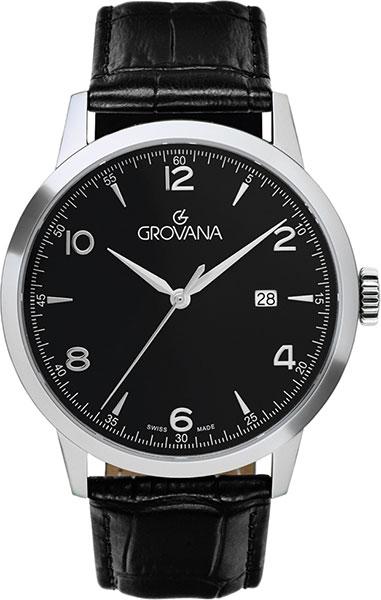 Швейцарские мужские часы в коллекции Traditional Мужские часы Grovana G2100.1537 фото