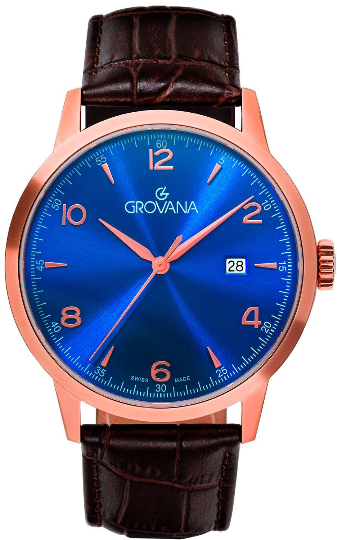 лучшая цена Мужские часы Grovana G2100.1565