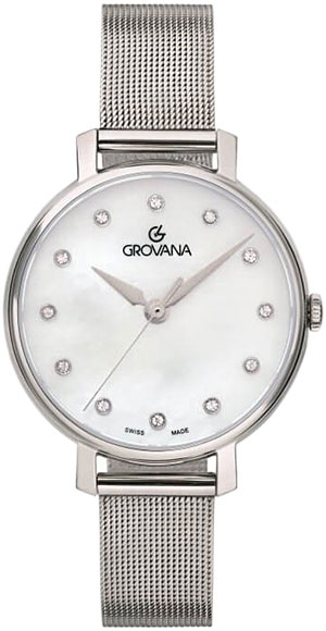 лучшая цена Женские часы Grovana G4441.1138
