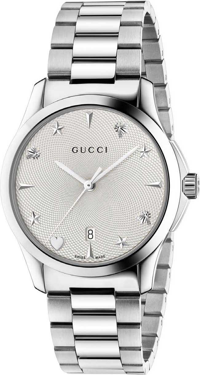 Фото - Женские часы Gucci YA1264028 мужские часы gucci ya147405