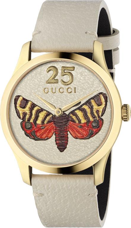 Швейцарские женские часы в коллекции G-Timeless Женские часы Gucci YA1264062 фото