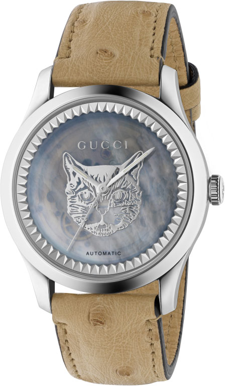 Мужские часы Gucci YA1264112 цена 2017