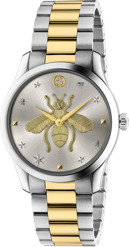 Фото - Мужские часы Gucci YA1264131 мужские часы gucci ya147405