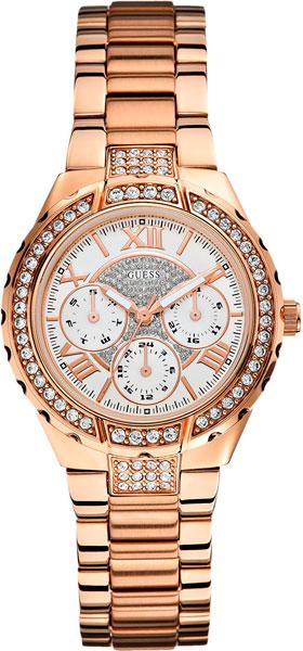 цена Женские часы Guess W0111L3 онлайн в 2017 году