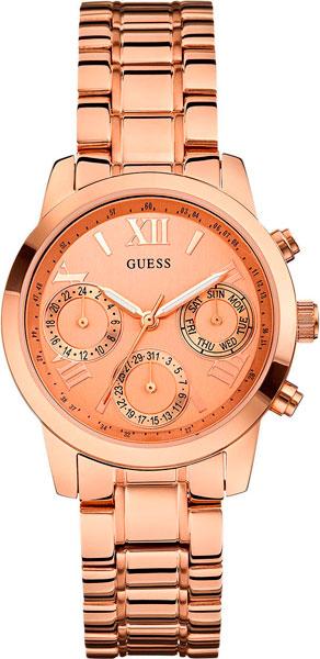 цена  Женские часы Guess W0448L3  онлайн в 2017 году