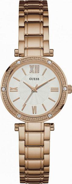цена Женские часы Guess W0767L3 онлайн в 2017 году