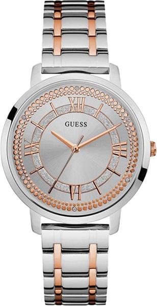 Женские часы в коллекции Dress Steel Женские часы Guess W0933L6