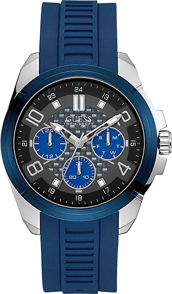 купить Мужские часы Guess W1050G1 по цене 7640 рублей