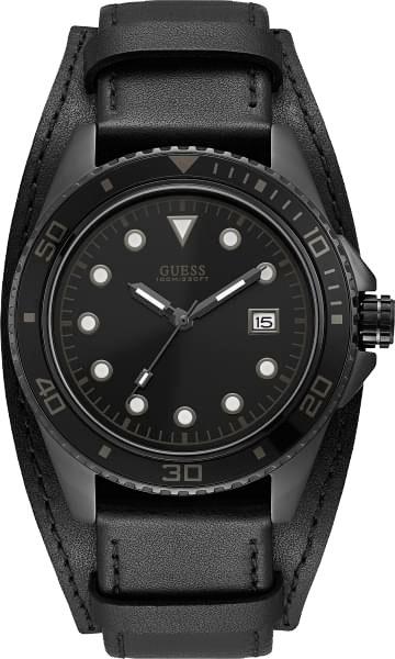Мужские часы Guess W1051G4 кожаные ремешки для мужских часов ориент
