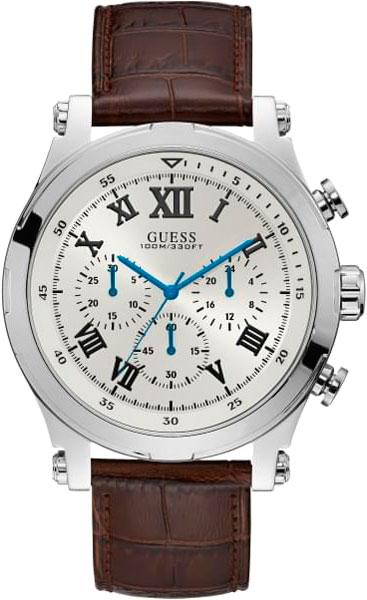 купить Мужские часы Guess W1105G3 по цене 9270 рублей