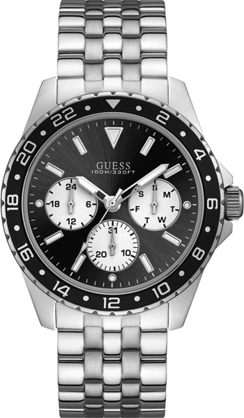 купить Мужские часы Guess W1107G1 по цене 8560 рублей